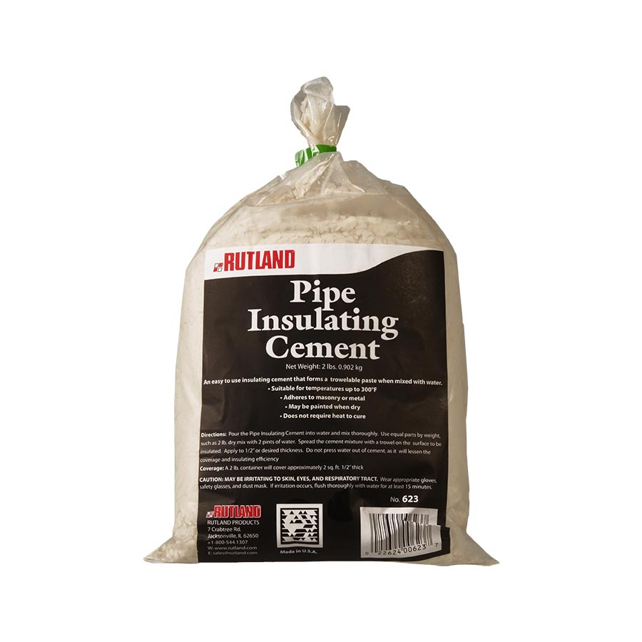 623 RUTLAND® Pipe Insulating Cement