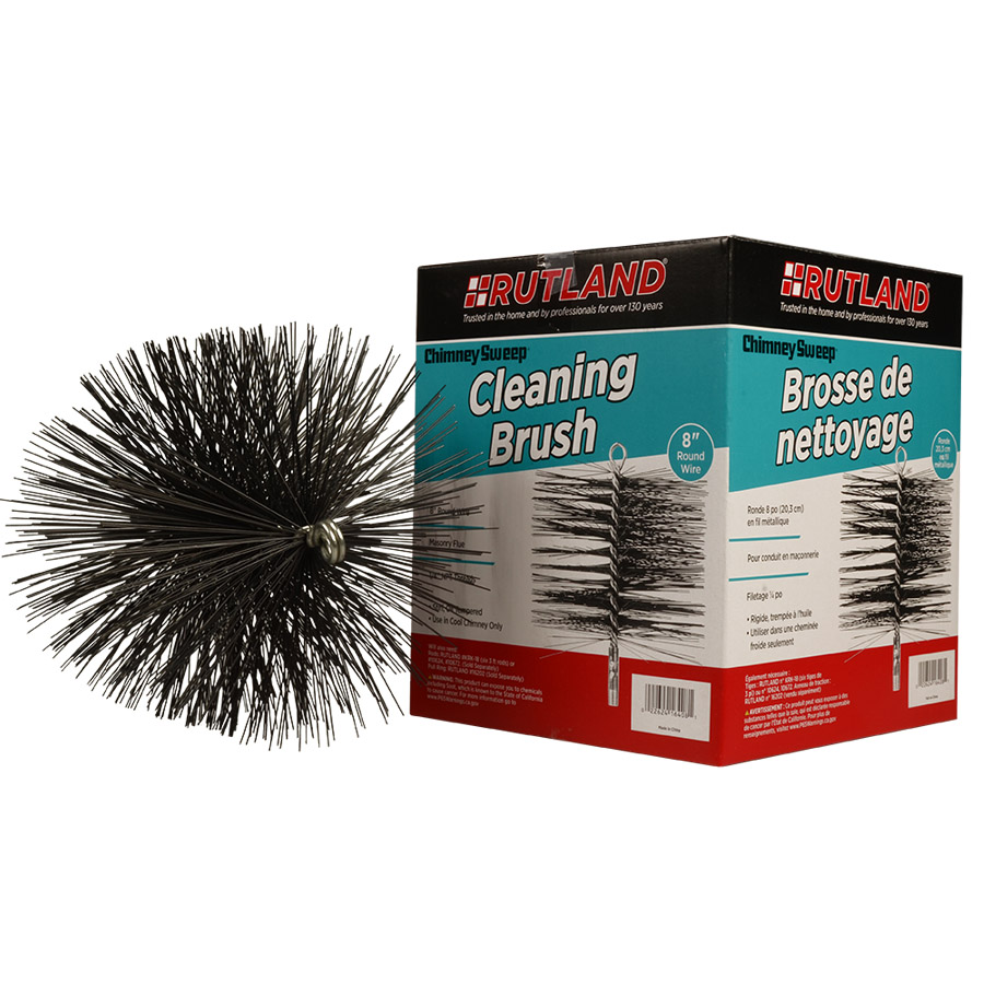 16408 RUTLAND® Chimney Sweep® Round Wire Cleaning Brush