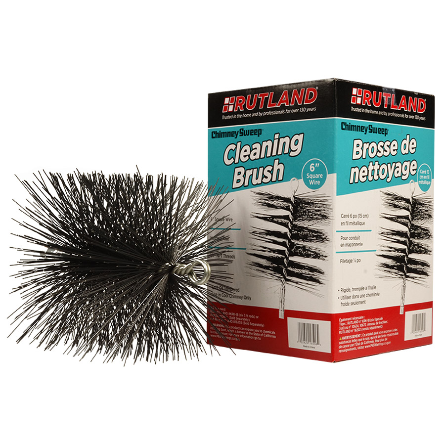 16506 RUTLAND® Chimney Sweep® Square Wire Cleaning Brush