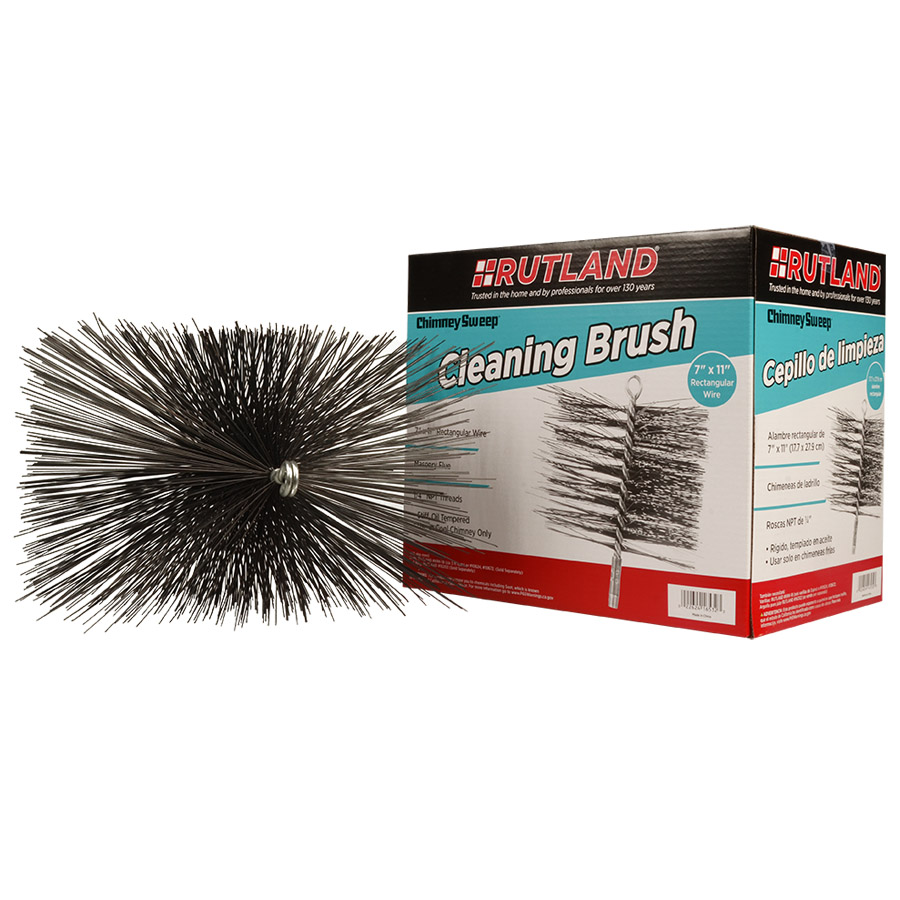 16532 RUTLAND® Chimney Sweep® Rectangular Wire Cleaning Brush