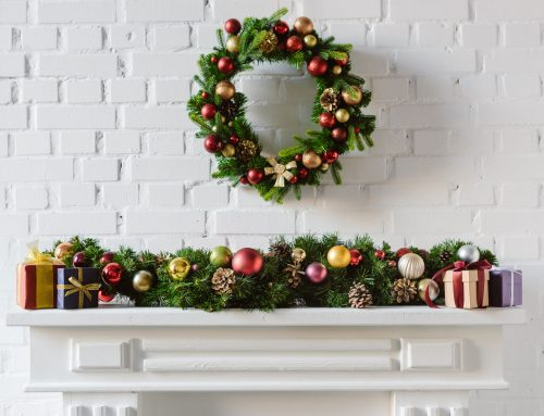DIY Decorations for your Fireplace Mantel, Christmas Tree and More!